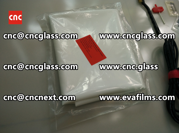EVA GLASS LAMINATION INTERLAYER FILM samples (4)
