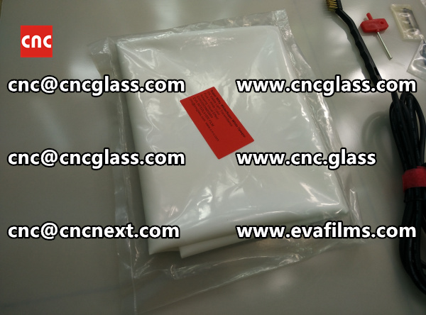 EVA GLASS LAMINATION INTERLAYER FILM samples (5)