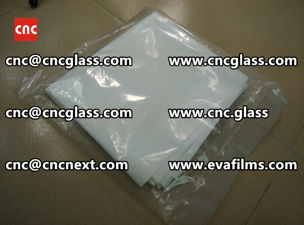 GLASS LAMINATION INTERLAYER eva film samples  (1)