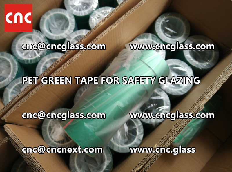 PET GREEN TAPE for eva film lamination pvb film (5)
