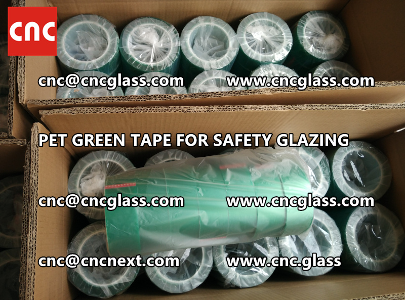 PET GREEN TAPE for eva film lamination pvb film (6)