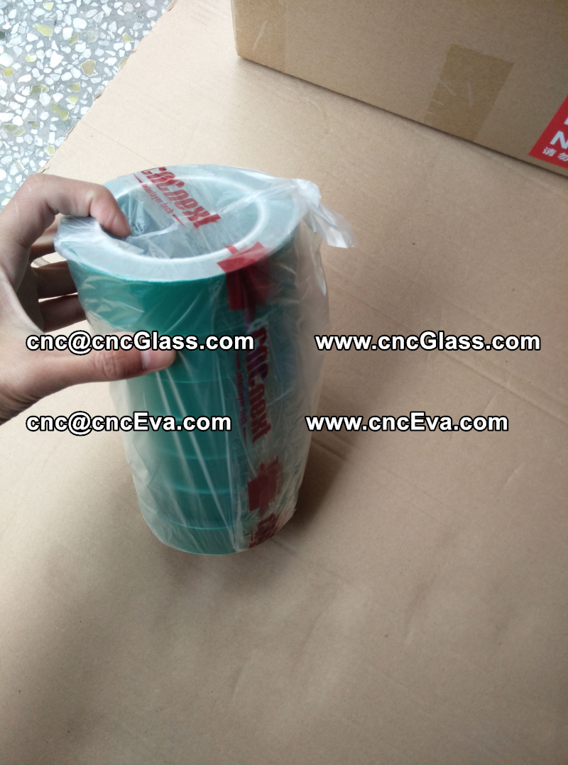 heat resistant green tape for glass oven (1)
