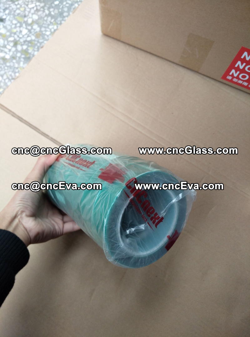 heat resistant green tape for glass oven (3)