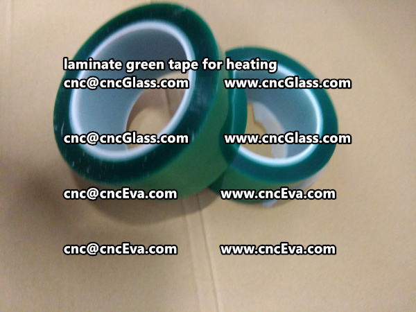green tape PET TAPE for solar BIPV laminate (12)