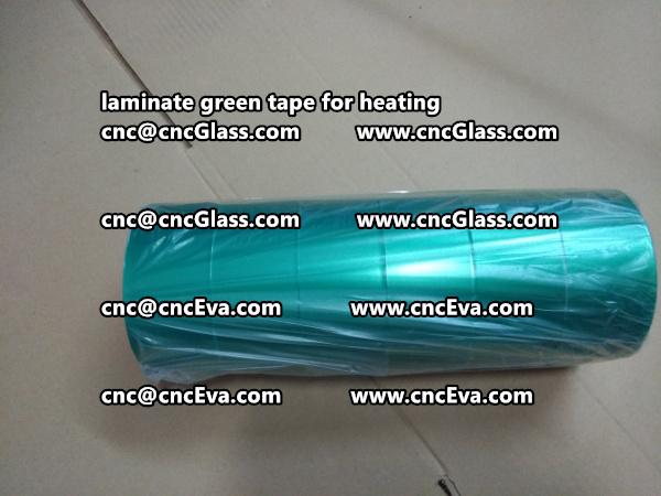 green tape PET TAPE for solar BIPV laminate (16)