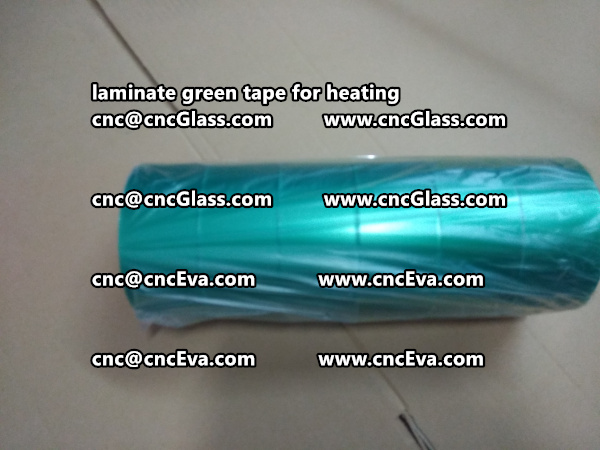 green tape PET TAPE for solar BIPV laminate (18)