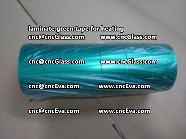 green tape PET TAPE for solar BIPV laminate (21)