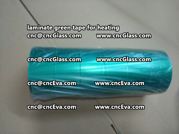 green tape PET TAPE for solar BIPV laminate (22)