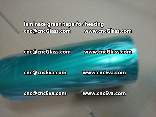 green tape PET TAPE for solar BIPV laminate (26)