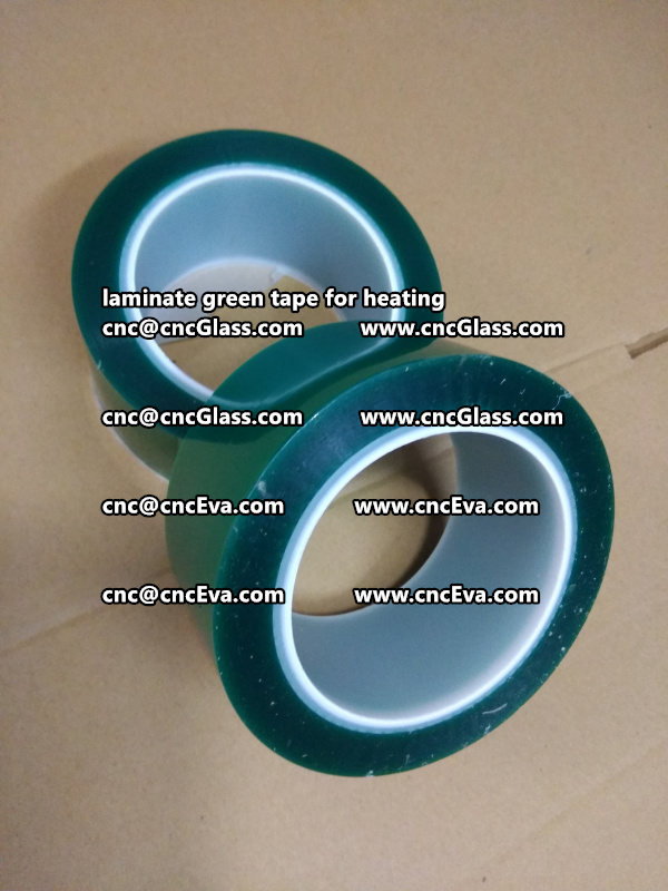 green tape PET TAPE for solar BIPV laminate (3)