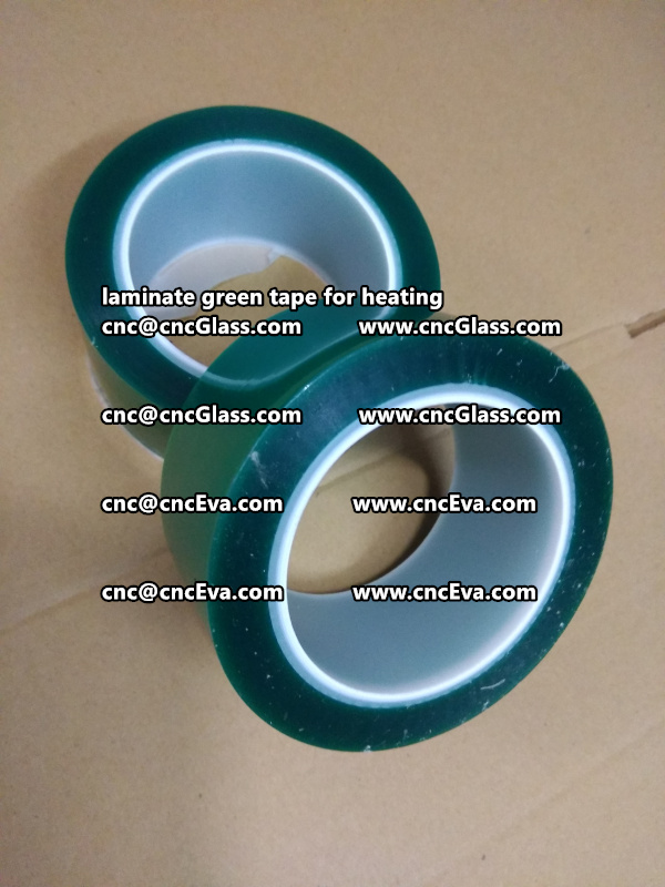 green tape PET TAPE for solar BIPV laminate (4)